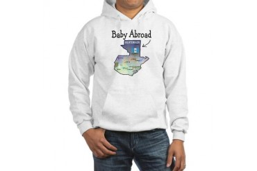 NEW Baby Abroad Blues Baby Hooded Sweatshirt by CafePress