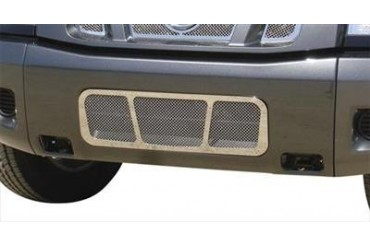 T-Rex Grilles Upper Class; Mesh Bumper Grille Bolt-On Insert 55780 Bumper Valance Grille Inserts