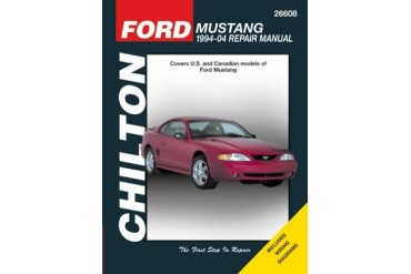 1994-2004 Ford Mustang Manual Chilton Ford Manual 26608 94 95 96 97 98 99 00 01 02 03 04