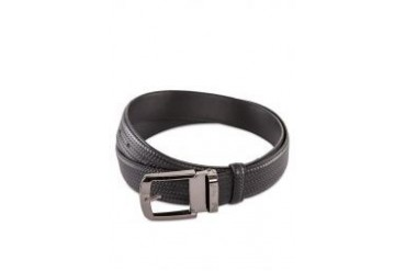 Polo Weave Leather Belt