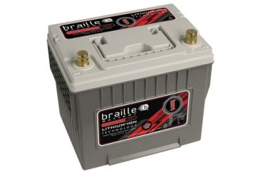 Braille Lithium Ion Intensity Deep Cycle Battery 1300 Amp 9 x 7 x 9 inch Left Positive BCI 25