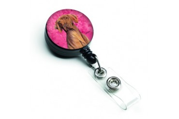 Vizsla Retractable Badge Reel or ID Holder with Clip