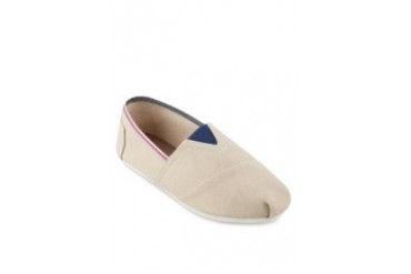 EZRA by ZALORA Slip On With Contrast Trimming And Elastic Band