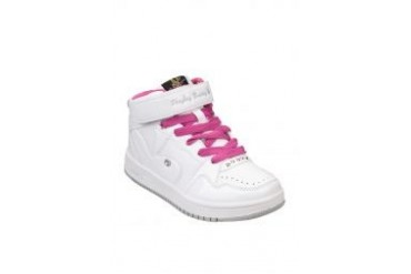 PLAYBOY BUNNY Ankle Sport Shoes Pink And White With Playboy Logo