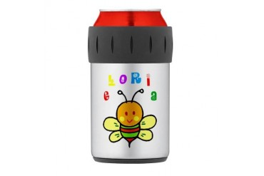 Gloria Thermos Can Cooler Cute Thermosreg; Can Cooler by CafePress