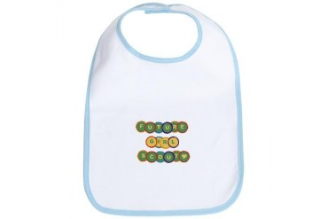 Future Girl Scout Baby Bib by CafePress