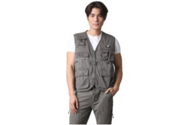 Watchout! Casual Watchout Casual Vest Olive