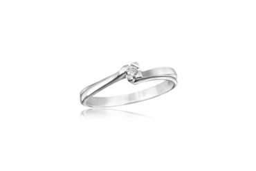 0.03 ctw Diamond Solitaire Ring