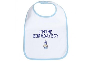 Birthday Boy 2 Birthday Bib by CafePress