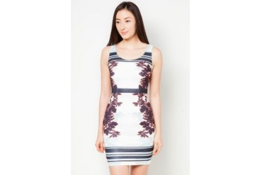 DressingPaula Floral Knee Length Dress