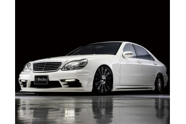 Wald International Black Bison Aerodynamic Body Kit Mercedes-Benz S-Class 03-06