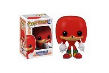 Sonic the Hedgehog Knuckles Pop Games Vinyl Figurine