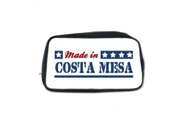 Made in Costa Mesa California Toiletry Bag by CafePress