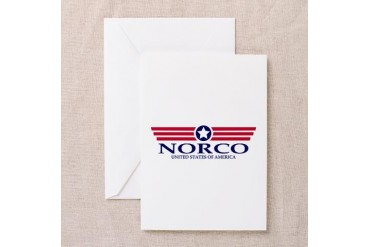 Norco Pride California Greeting Card by CafePress