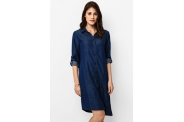 16DS Euny Shirt Mini Dress