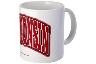 Wisconsin Collegiate Teacher Mug by CafePress