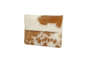 Leather envelope for iPad 2 and new iPad - Cow hide Case