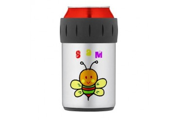 Sam Thermos Can Cooler Cute Thermosreg; Can Cooler by CafePress