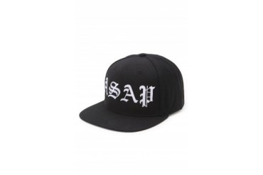 Mens A$Ap Worldwide Hats - A$Ap Worldwide A$AP Snapback Hat