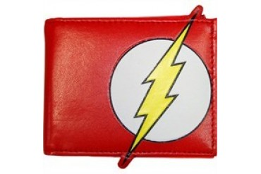 DC Comics Flash Boundless Logo Polymer Bi-Fold Wallet