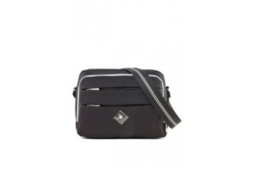 Swiss Polo Double Zipper Sling Bag