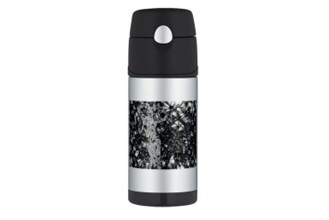 Crystalline Fantasy Thermos Bottle 12oz by CafePress