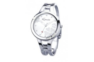 Eyki Kimio Lucky Grass K425L White Ladies Bangle Watch