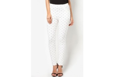 CLUB ZEN Jeggings with Anchor Print