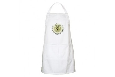 Laird of John O'Groats BBQ Cupsthermosreviewcomplete Apron by CafePress