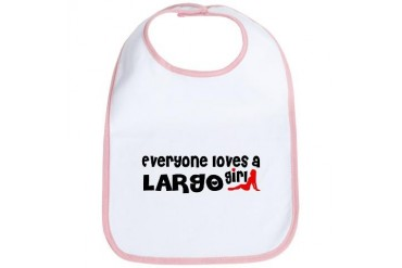 Everyone loves a Largo Girl Florida Bib by CafePress
