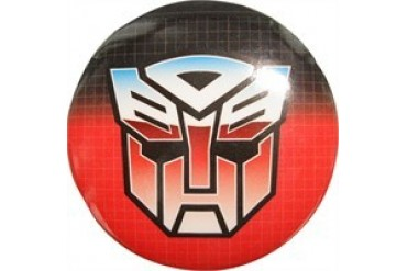Transformers Autobot Grid Button