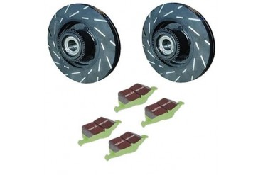 EBC Brakes Stage 4 Signature Front Brake Kit S4KF1416 Replacement Brake Pad and Rotor Kit