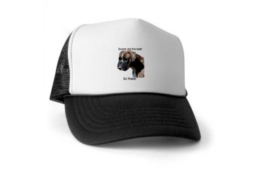 Boxers are the Best Brindle u Pets Trucker Hat by CafePress
