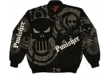 Marvel Comics Punisher Skull Shadowy Face Jacket by JH Design
