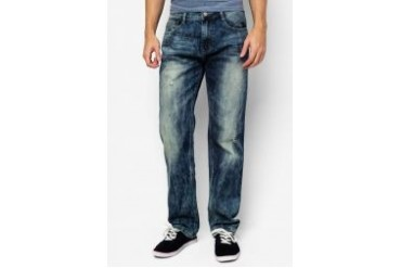 Wisedragon Relaxed Cut Organic Jeans