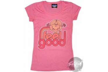 Little Miss Feel Good Baby Doll Tee by JUNK FOOD