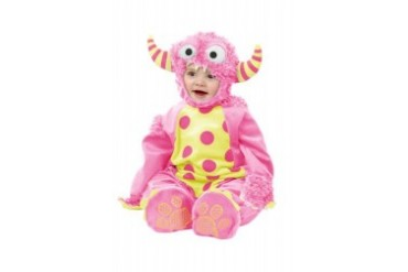 Child Pink Mini Monster Toddler Halloween Costume