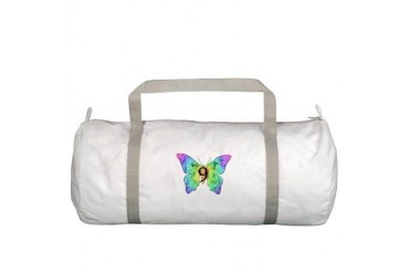 Baby is Nine - 9 Months? or 9 Years Old? Baby girl Gym Bag by CafePress