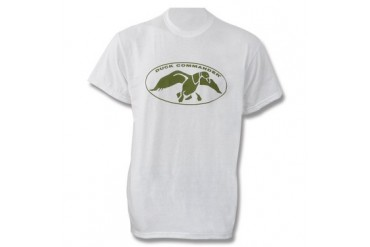 Duck Commander T-Shirt - White - XXL