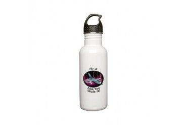 Tornado Hobbies Stainless Water Bottle 0.6L by CafePress