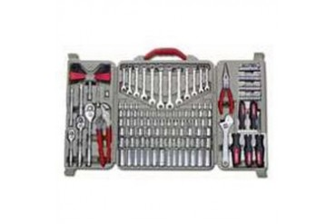 2 Pack Crescent 170 Piece Professional Mechanics Tool Set with Case Kit CTK