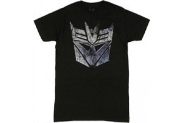 Transformers Decepticon Scratch Logo Jack of All Trades T-Shirt Sheer