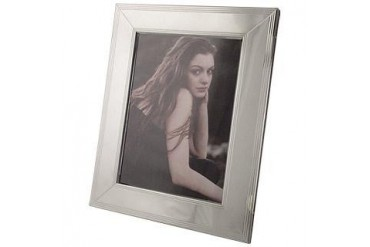 Sterling Silver Guilloche' Picture Frame