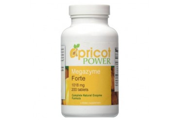 Apricot Power Megazyme Forte 200ct Natural Metabolic Nutrients Immune