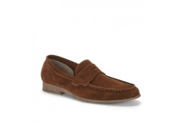 Shelf Made Suede Penny Loafer