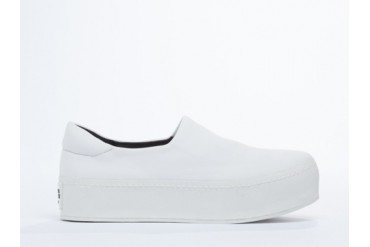 Opening Ceremony Slip On Platform Sneaker in White size 7.0