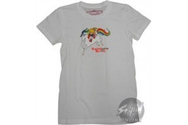 Rainbow Brite on Horse Baby Doll Tee by REBUBLIC
