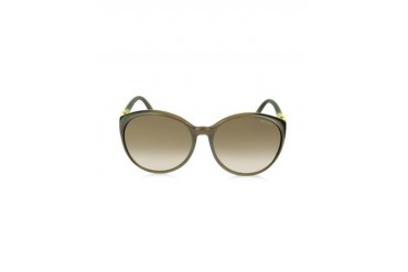 MARINE/S APKJD Brown Round Frame Sunglasses