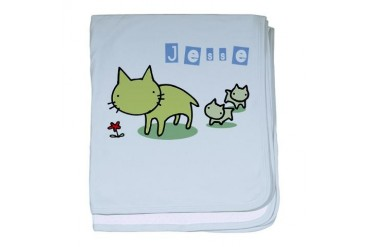 Jesse Cute baby blanket by CafePress
