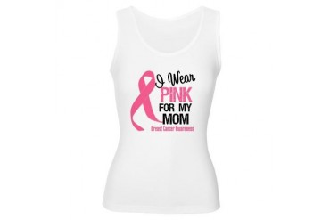 I Wear Pink For My Mom Women's Tank Top